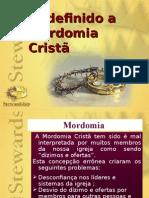 1. Redefinindo a Mordomia