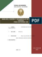 CASO PRACTICO DE  COSTOS