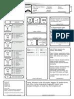 Aesir Lvl 9 Character Sheet