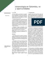 Nanotecnología en Colombia