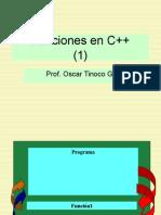 Funciones en C++