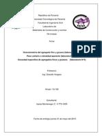 Informe materiales, granulometria