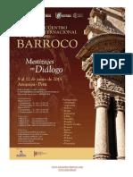 Programa Encuentro 2015. Barroco