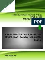 DSH 012 INTRO OSH Presentation 2