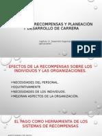 SISTEMA DE RECOMPENSAS Y PLANEACIÓN Y DESARROLLO DE CARRERA