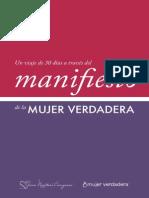Manifiesto Mujer Verdadera 30 Dias