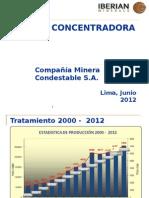 Presentación Planta Condestable 2012 Rv1