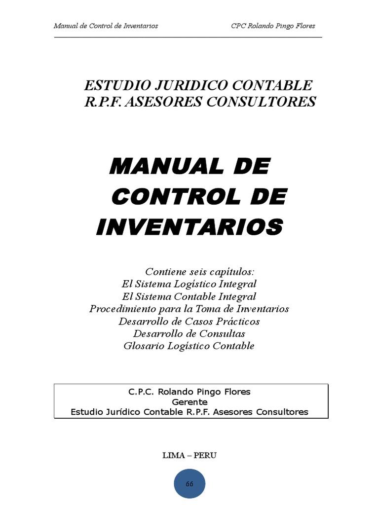 Nuevo Control de Inventarios