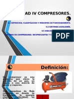 Unidad 4 Compresores