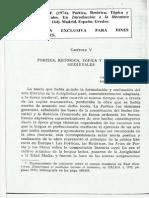 Lopez Estrada F. 1974 - Poetica Retorica Topica y Tematica Medievales