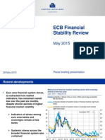 ECB Financial Stability Review - May 2015