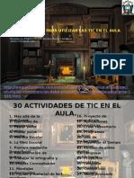 30 Actividades Mucha Alcides Sede Yanahuanca
