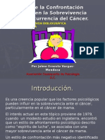 Cancer Confrontacion Psicologica