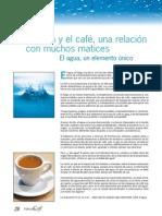 Relacion Agua y Cafe