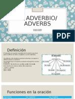 Adverbio/Adverbs
