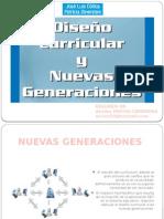 Diseño Curricular y Nuevas Generaciones