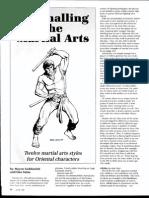 Dragon Magazine #122 Mastering the Martial Arts