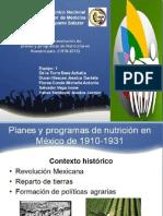 Analisis de Programas y Politicas de Nutricion en Nuestro Pais