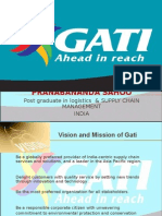 Gati LOGISTICS CORPORATION
