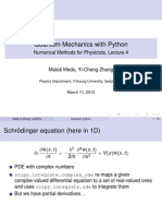 Lecture4 Quantum Python | Partial Differential Equation