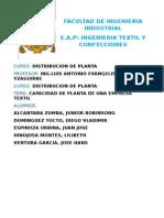 Distribucion de Planta Textil Final