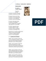 Cancionero Cristo Obrero 2011