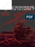 Legend of the five rings - Strongholds of the Empire