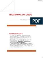 Semana 05 Programacion Linial