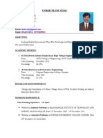DAMU Latest Resume 27.5. 2015