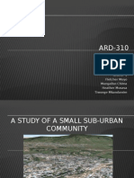 A Study of a Small Suburban Community