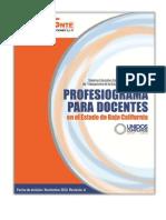 Profesiograma Baja California