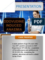 Zidovudineinduced Anaemia