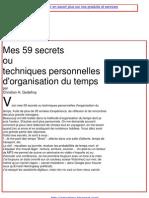 Secrets Du Bonheur