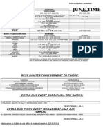 SAMOS PUBLIC BUSES TIMETABLE , JUNE 1-15, 2015