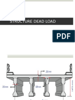 Superstructure Dead Load