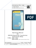 ADR133A Manual