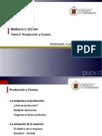 Clases_GEC, Tema 5- Producción y Costos