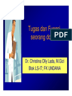 Tugas Dan Fungsi Seorang Dokter