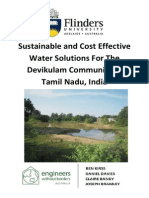 2A - Sustainable and Cost Effective Water Solutions