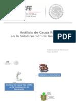 Análisis de Causa Raíz ACR - SDG