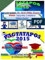 PAGTATAPOS 2015 TARPAPEL