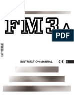 Nikon FM3A Camera User Manual