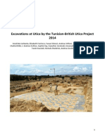 Excavations at Utica by the Tunisian-British Utica Project 2014