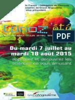 MENDES Curiozete 2015 Charente DEP 10x21 BD Finale