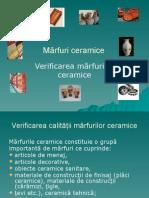 Mărfuri ceramice