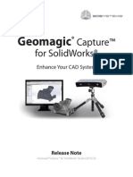 CaptureForSolidworks ReleaseNote v2014.2.0
