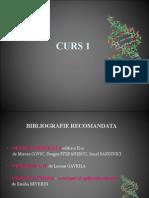 CURS 1 Genetica