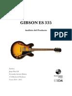 Gibson Es-355 Estética