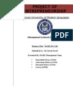 Final Entrepreneurship Business Plan