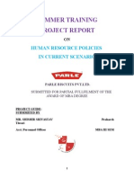 Parle-g Human Resource Policies